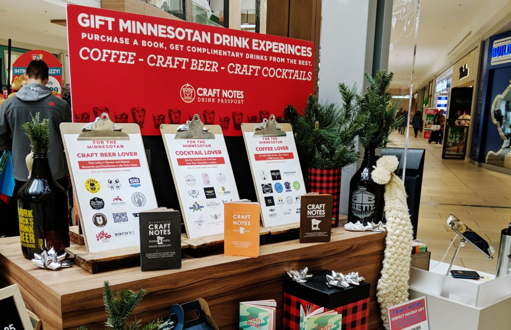 craft notes display retail
